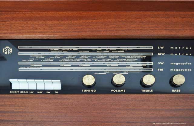 Radiograma PYE en vientoretro