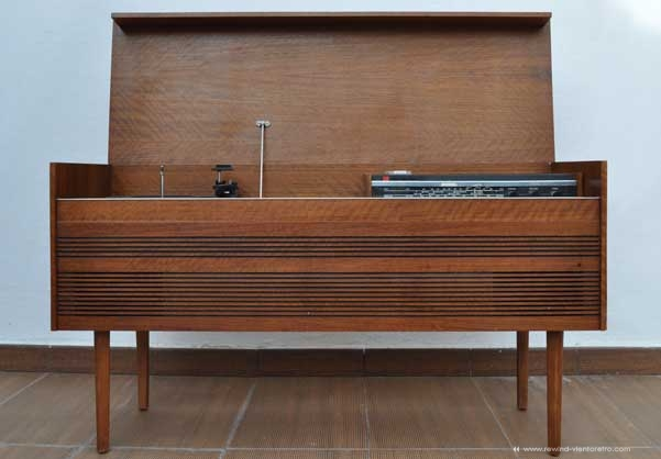 Mueble tocadiscos Murphy original de los años 60