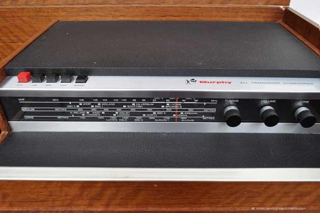 Radiograma marca Murphy en rewind