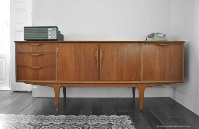Aparador jentique rewind viento retro muebles vintage - Muebles anos 60 ...