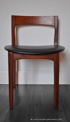 Sillas a os 50 rewind viento retro muebles vintage y for Sillas comedor respaldo bajo